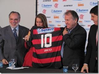 Nação Flamengo  - Zico, o galinho de quintino, voltou! 116